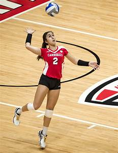 Taught by a Ball State legend, freshman volleyball player ...