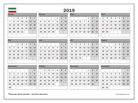 kalender nordrhein westfalen michel zbinden de