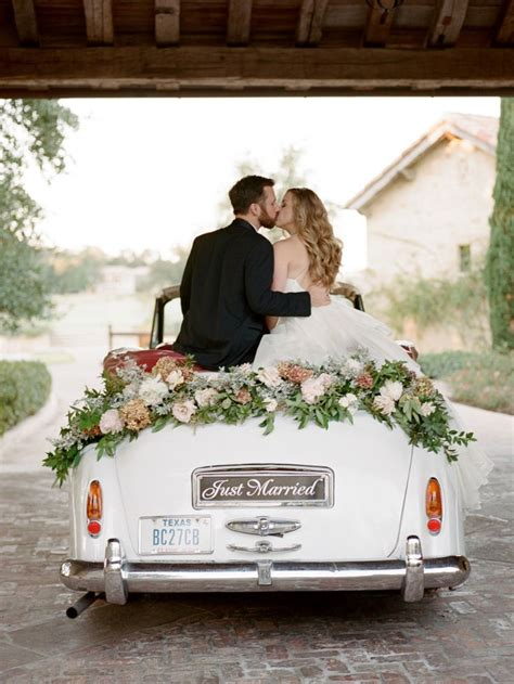 best 25 just married car ideas on