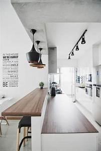 decouvrez nos 84 jolies propositions pour cuisine avec bar With lovely quelle couleur avec gris anthracite 4 quelle couleur salle de bain choisir 52 astuces en photos
