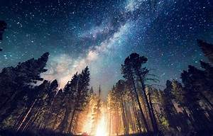 long Exposure, Starry Night, Milky Way, Galaxy, Nature ...