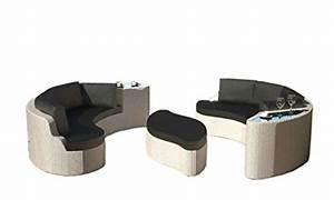 Sitz Sofa Für Esstisch : rattaninsel emmi wei lounge liegeinsel sofa garnitur sitzecke sitzgruppe tisch sitz ecke bank ~ Whattoseeinmadrid.com Haus und Dekorationen