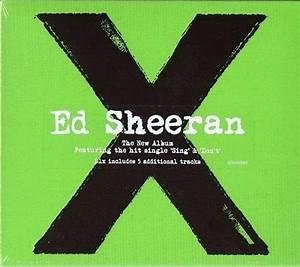 Ed Sheeran X - Deluxe - Sealed UK Cd Album 825646285860 X ...