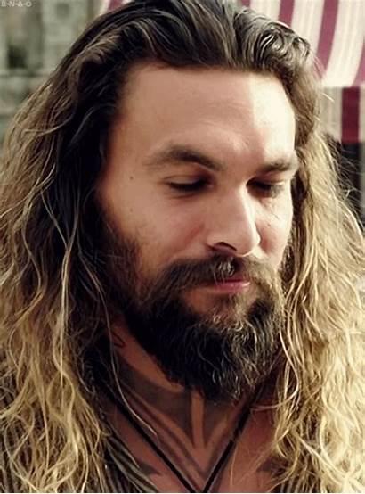Jason Momoa Aquaman Beard Gifs Atlantis Smile