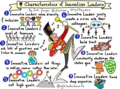 characteristics  innovative leaders leadership traits