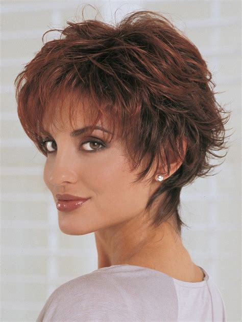 short shag cut hairstyles   shaggy short hair