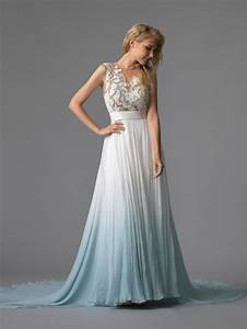 head over heels in love with this ombre dip dye With ombre wedding dress