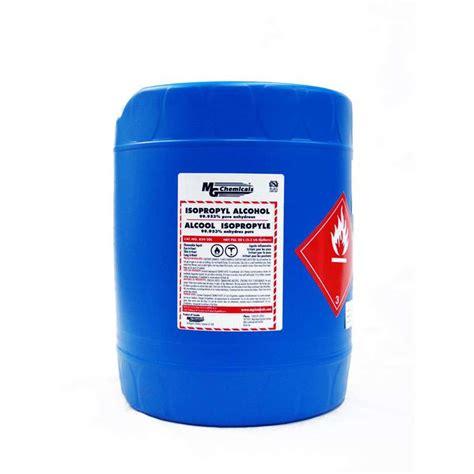 isopropyl 99 953 20 liter 5 gallon container