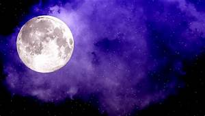 FREE HD themed Video backgrounds - full moon on night sky ...