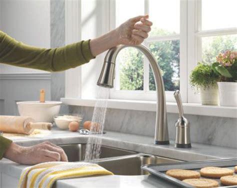 touch sensitive kitchen faucet touch sensitive faucet is absolute kitchen genius