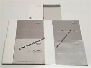 2019 Nissan Altima Owners Manual Platinum Edition One Sr