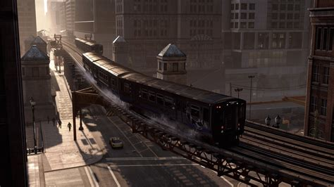 wallpaper  dogs game action adventure train city