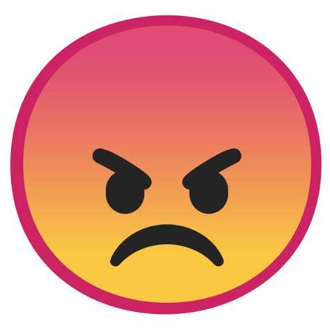 visage en colere emoji