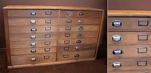 Meuble à Tiroir : design industriel mobilier industriel meuble industriel ~ Melissatoandfro.com Idées de Décoration