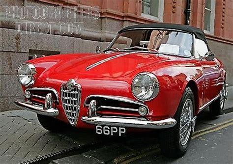 Classic Vintage Alfa Romeo Giulietta Spider  V R O O M V