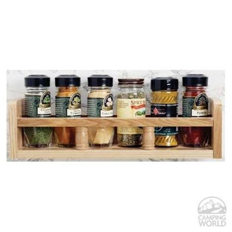 Travel Spice Rack by Solid Oak Spice Rack Cing For The Cer