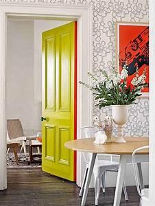 Peindre Couloir Deux Couleurs : peindre couloir deux couleurs 16 cheap peinture je transforme mes portes en lments dco with ~ Preciouscoupons.com Idées de Décoration