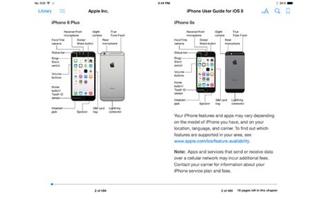 iphone 6 user manual apple releases iphone user guide in ibooks