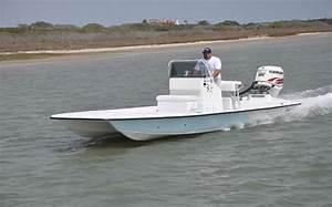 Shoalwater Boats - 23 foot catamaran shallow fishing boat
