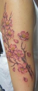 Cherry Blossom Tattoos Designs, Ideas and Meaning ...