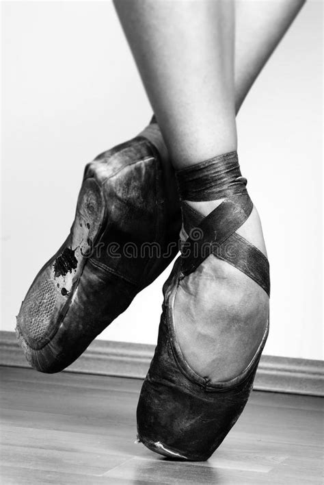 Ballet Shoes stock photo. Image of foot, arch, dancer