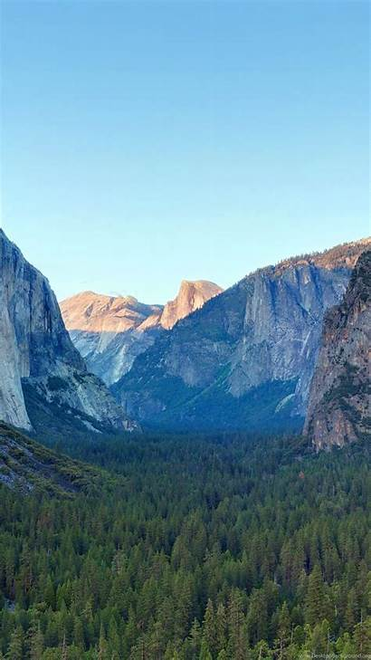 4k Yosemite Apple 5k Wallpapers Forest Mountains