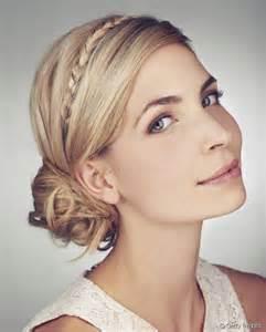 tresse pour mariage coiffure de mariage 3 idées de chignons tressés