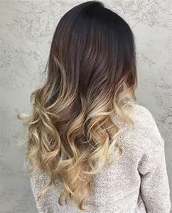 Ombré Hair Blond Foncé : best ombre hair color ideas for blond brown red and black hair ~ Nature-et-papiers.com Idées de Décoration