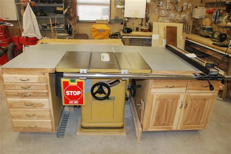cabinet table saw used table saw cabinets by denniemac lumberjocks