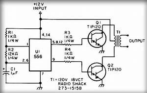 Simple Inverter Circuit With Ic556 Timer Chip  U0432 2020  U0433