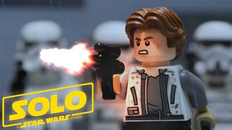 Lego Solo A Star Wars Story Corellian Rescue Stop Motion