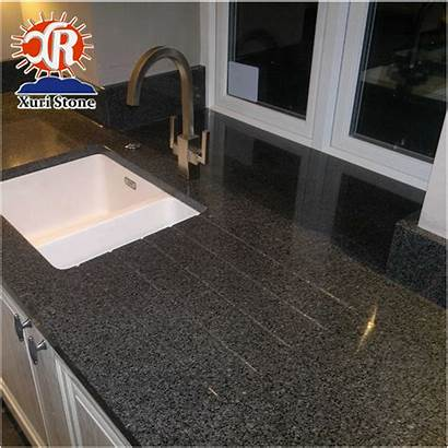 Granite Africa Nero Jet Impala Kitchen