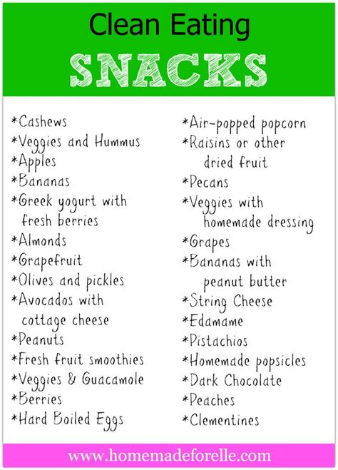 healthy snacks list clean eating snacks homemade health and fitness and the dairy