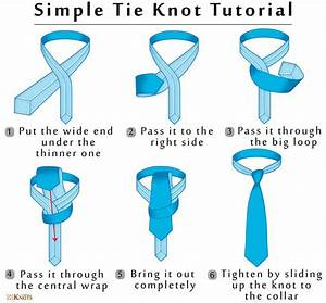 Tying A Simple  Small  Oriental  Tie Knot  Step By Step