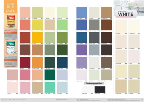 nippon paint aqua bodelac colour chart nippon paint