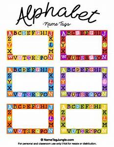 Free printable name tags for Locker tag templates
