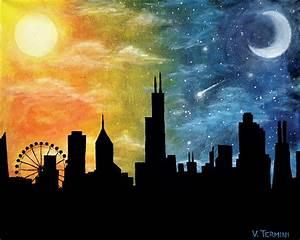 Night And Day : day night chicago by vincetermini on deviantart ~ A.2002-acura-tl-radio.info Haus und Dekorationen