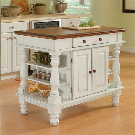 white island kitchen shop home styles 42 in l x 24 in w x 36 in h distressed