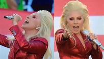 Lady Gaga canta l'inno nazionale al Super Bowl (VIDEO ...