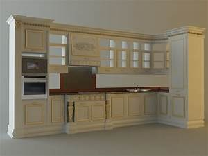 kitchen cabinets appliances 28663 3d model max With kitchen furniture 3ds max free