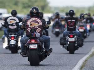 Hells Angels Arrive Near Montreal For Weekend National