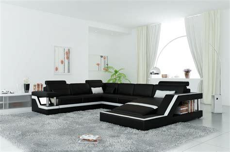 canap 233 d angle panoramique en cuir italien design et pas