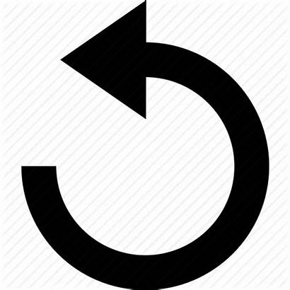 Restart Icon Reset Rotate Starting Left Arrow
