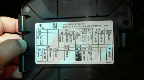 2004 Infiniti G35 Sedan Fuse Box Location by Awd Fuse For Coupe G35driver