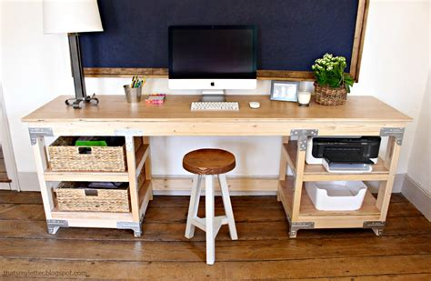 how to build a computer desk that s my letter custom desk build diy done right