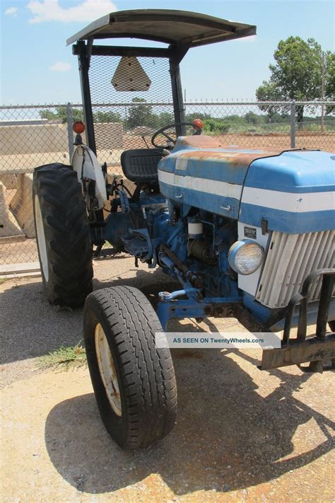 ford tractor model