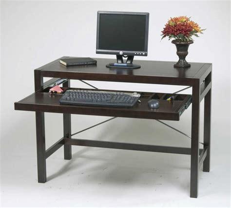 wood computer desk solid wood computer desk for home office