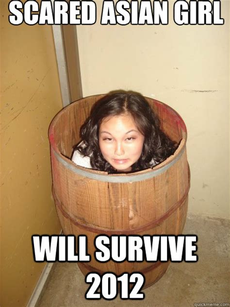 Asian Girl Meme - sacred asian girl do a barrel roll you f king kidding me bro scared asian girl quickmeme