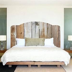 Tete De Lit Bois Flotté : tete de lit bois flotte tete de lit en bois flotte 180 river et27 ~ Teatrodelosmanantiales.com Idées de Décoration