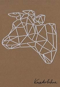 Frühlingsdeko Basteln Vorlagen : wanddeko selber machen kuh sticken muster pinterest ~ Lizthompson.info Haus und Dekorationen